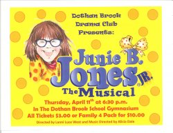 Junie B. Jones tickets on sale!